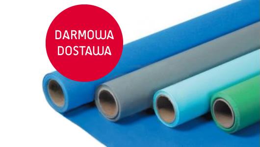 Darmowa dostawa na tła papierowe Fomei o szerokości 2,72m x 11m