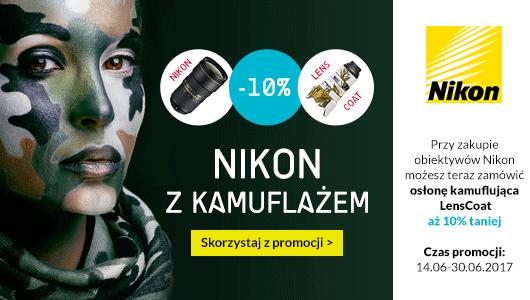 Nikon z kamuflażem