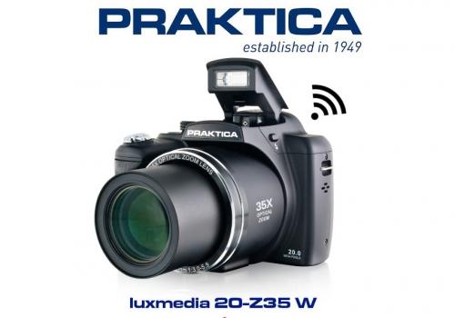 Aparat cyfrowy Praktica Luxmedia 20-Z35W + wizjer do filmowania za 1zł