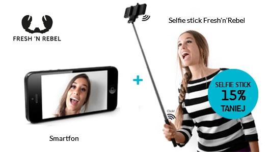 Smartfon + Selfie stick Fresh n Rebel o 15% taniej!