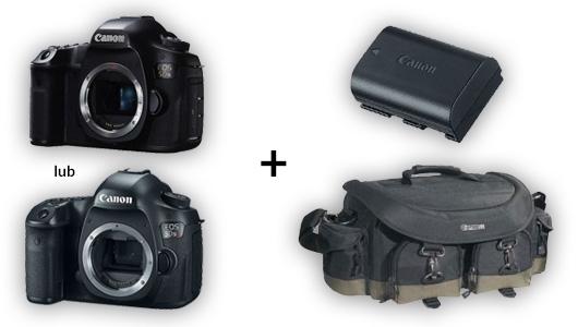 Canon EOS 5Ds lub 5DsR + akumulator i torba Canon GRATIS!