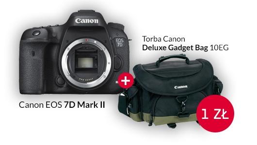 Canon EOS 7D Mark II + torba Canon za złotówkę!