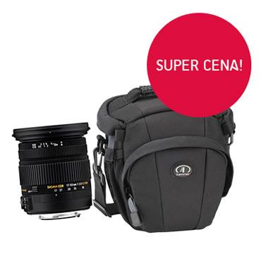 Obiektyw Sigma 17-50 mm F/2.8 + torba Tamrac Evolution Zoom 16 w super cenie!