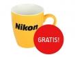 Do wszystkich lustrzanek i obiektywów Nikon, kubek GRATIS!