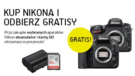 Kup Nikona i odbierz gratisy