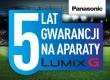 5 LAT gwaracji przy zakupie aparatu Panasonic Lumix DMC-GH4
