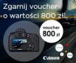 Canon EOS 5D mark III z voucherem wartości 800 zł!