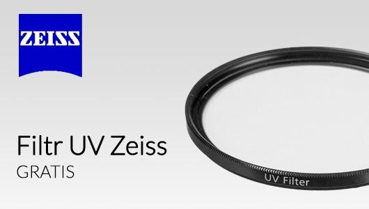 Filtr UV Zeiss GRATIS przy zakupie obiektywów Planar 50mm f/1.4!