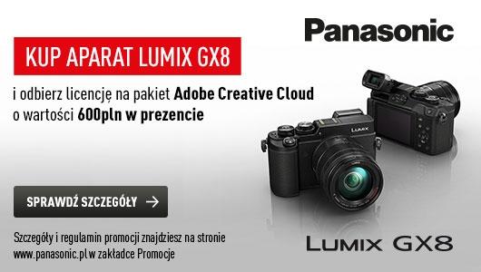 Panasonic LUMIX GX8 + Adobe Creative Cloud