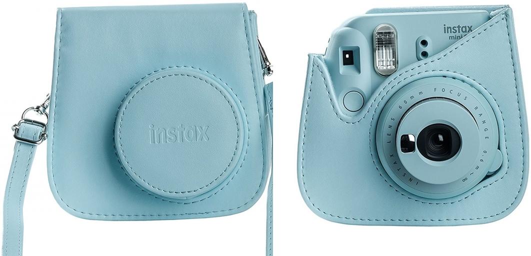 b34b5bcb5f2af fujifilm instax mini 9 etui wkład instax mini 10 (jasnoniebieski) FujiFilm  Pokrowiec Instax Mini 9 - Ice Blue - Torby plecaki walizki .
