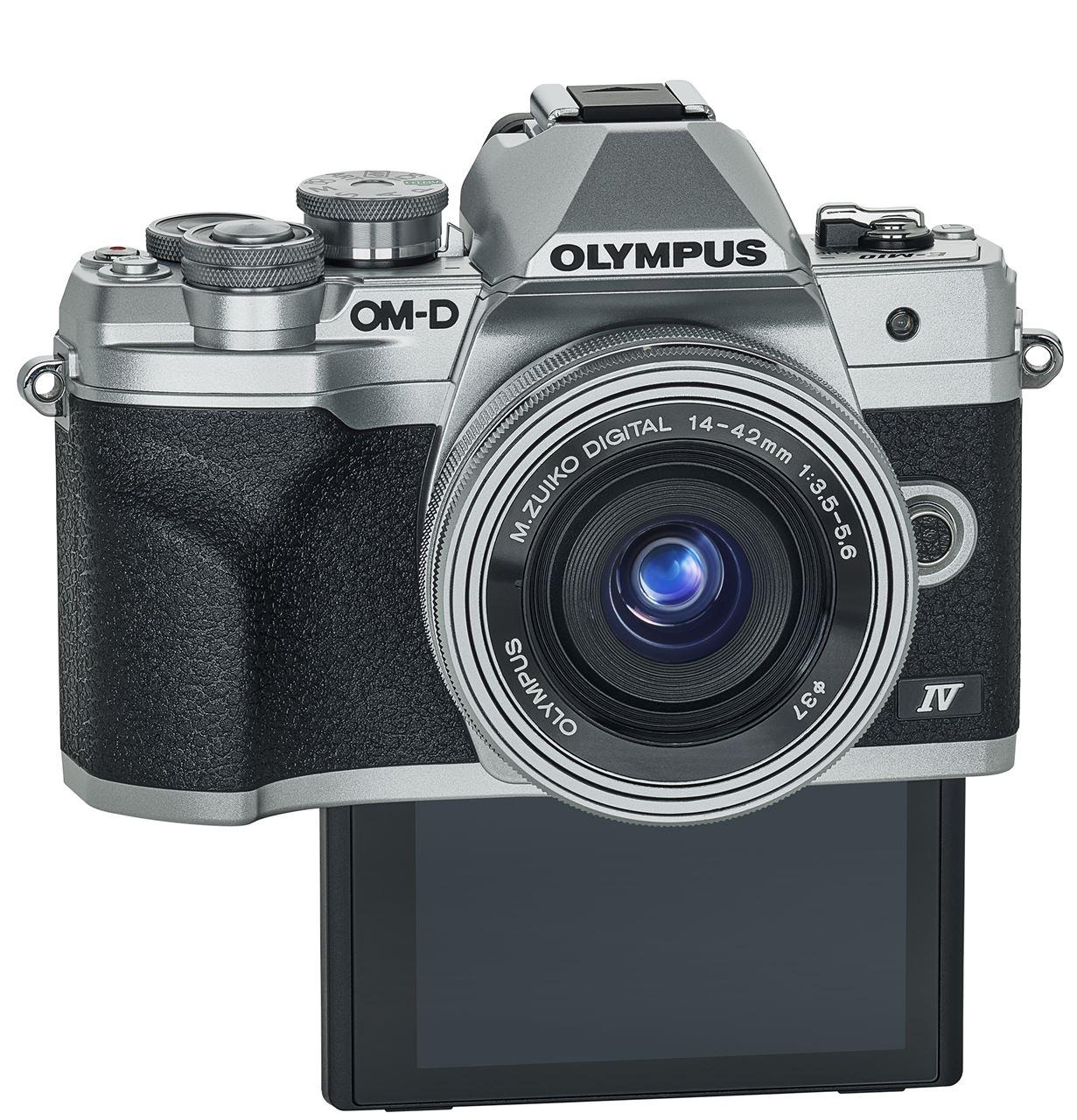 Olympus Om D E M10 Mark Iv Body Srebrny Aparaty Cyfrowe Foto Sklep Internetowy Cyfrowe Pl