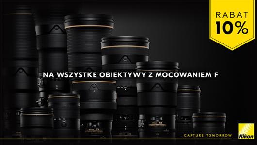 Rabat natychmiastowy 10 % od Nikon