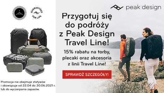 Przygotuj się do podróży z Peak Design Travel Line