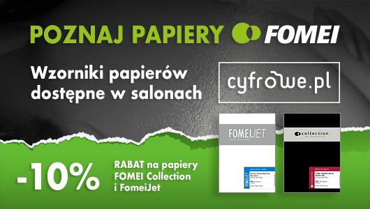 10% rabatu na wybrane papiery FOMEI