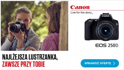 Canon - dla vlogerów, youtuberów z gratisami!