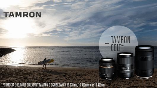 Obiektyw Tamron + COLT gratis