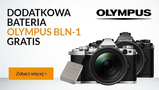 Dodatkowa bateria Olympus BLN-1 gratis