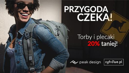 Peak Design 20% taniej!