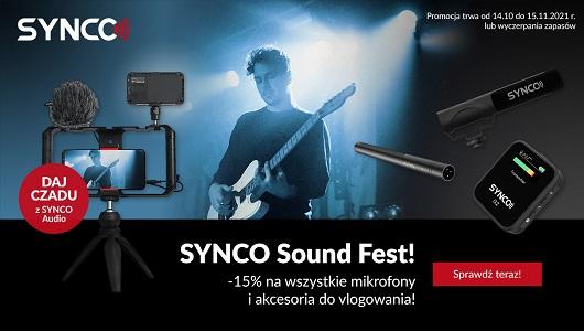 Daj czadu z Synco! Wszystkie mikrofony 15% taniej!