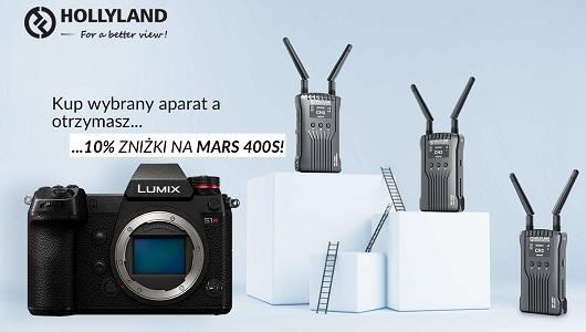 Kup wybrany aparat lub kamerę a bezprzewodowy zestaw MARS 400S otrzymasz taniej!
