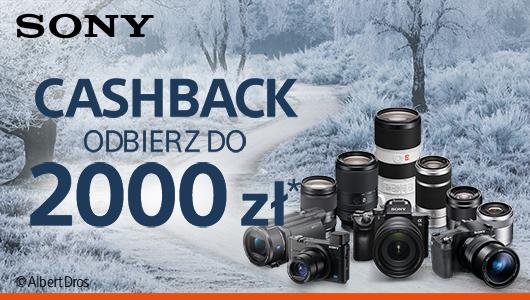 Cashback od Sony nawet do 2000 zł