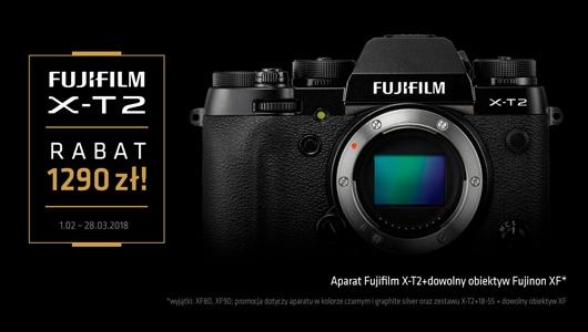 Kup X-T2 z obiektywem Fujinon XF i odbierz rabat 1290 zł