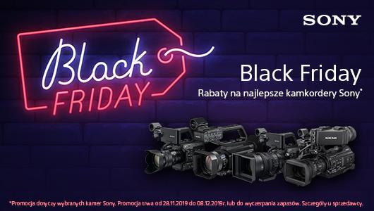 Black Friday z profesjonalnymi kamkoderami od Sony