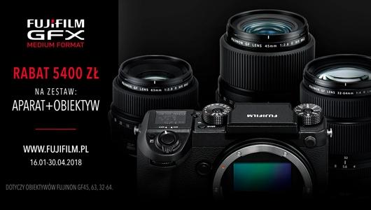 Rabat 5400 zł na zestaw aparat + obiektyw