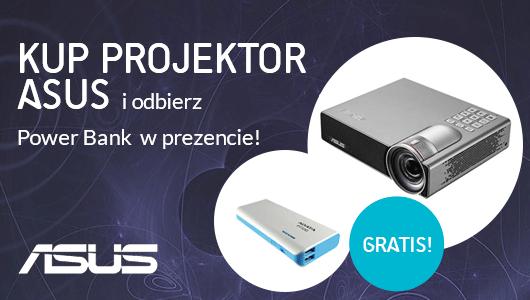 Kup projektor Asus i odbierz Power Bank w prezencie