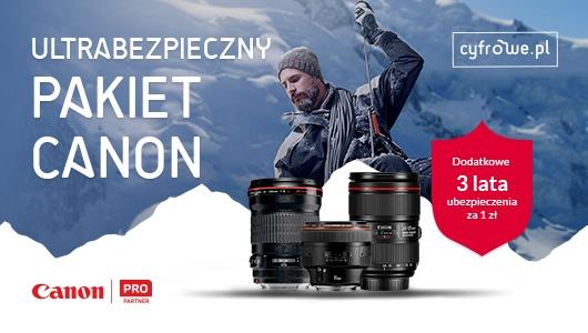 Ultrabezpieczny pakiet Canon