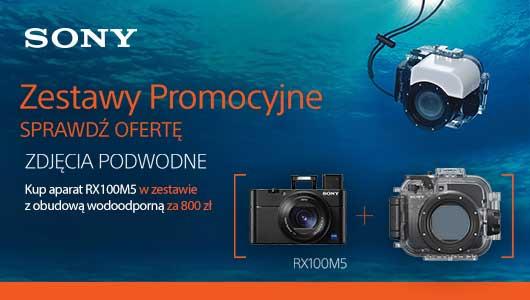 Sony RX100V oraz RX100IV + obudowa wodoodporna za 800 zł