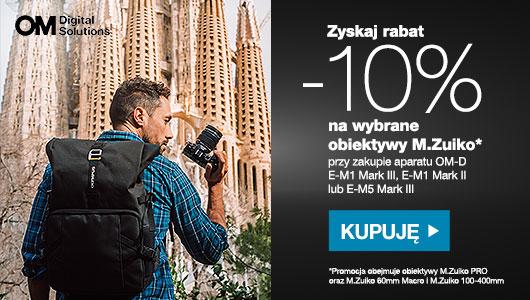 Obiektywy M. Zuiko taniej o 10% w promocji Olympus!