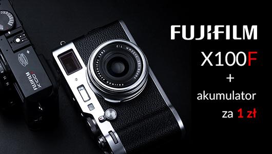 Kup aparat FujiFilm X100F a otrzymasz akumulator w cenie 1 zł!