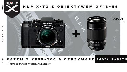 FujiFilm z obiektywem aż 649 zł taniej