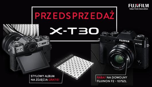 Przedsprzedaż aparatu X-T30