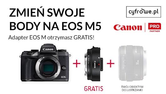 Uzupełnij swój system o Canon EOS M5