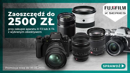 Dobierz dodatkowy obiektyw do aparatu FujiFilm i zyskaj nawet 2580 złotych