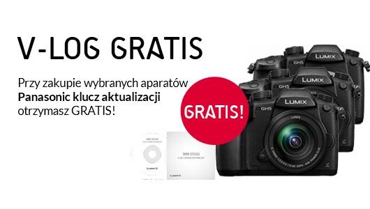 Panasonic GH5 + klucz V-log gratis