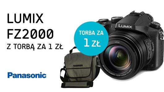 Lumix FZ2000 + torba za 1 zł