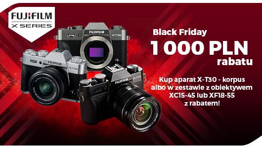 Kup aparat FujiFilm X-T30 taniej o aż 1000 zł!