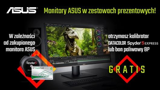 Monitory Asus w zestawach prezentowych
