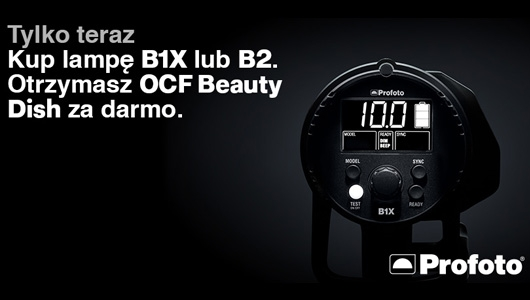 Kup lampę B1X lub B2 a otrzymasz OCF Beauty Dish gratis