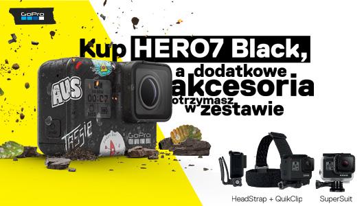 Odbierz akcesoria do GoPro7 gratis