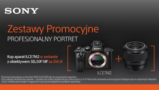 Promocyjny zestaw Sony A7II + 50mm za 350 zł