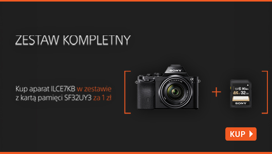 Sony A7 + karta SDHC za 1 zł