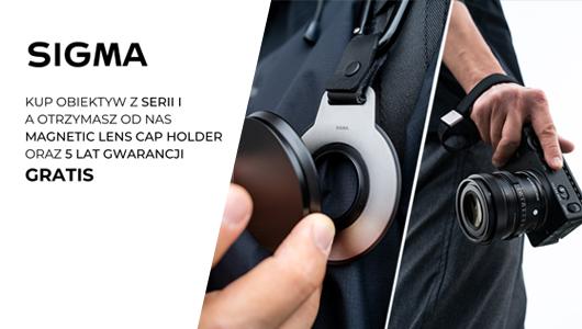 Magnetic Lens Cap Holder oraz 5 lat gwarancji gratis